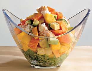 Salata exotica papaya mango