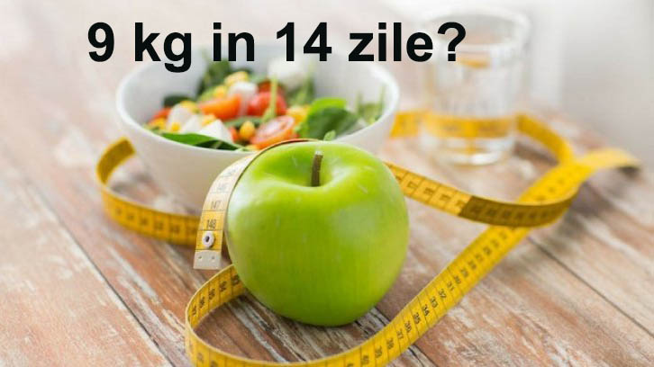 9kg in 14 zile