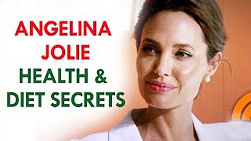 Angelina Jolie Diet Health