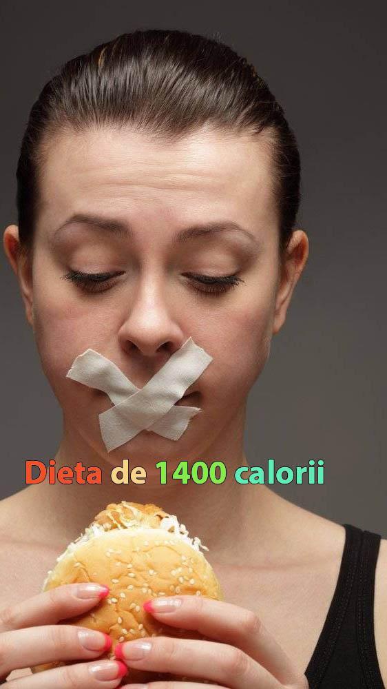 Dieta de 1400 calorii