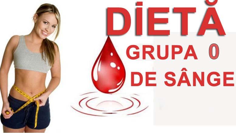 Dieta-grupa 0 de sange