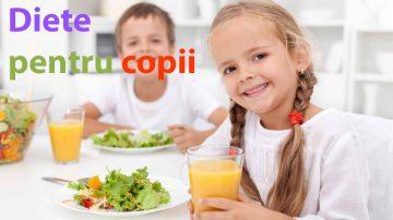 Diete pentru copii