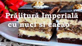 Prajitura Imperiala Cu Nuci Si Cacao