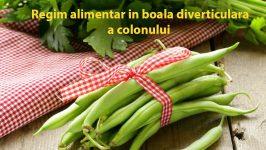 Regim alimentar in boala diverticulara a colonului