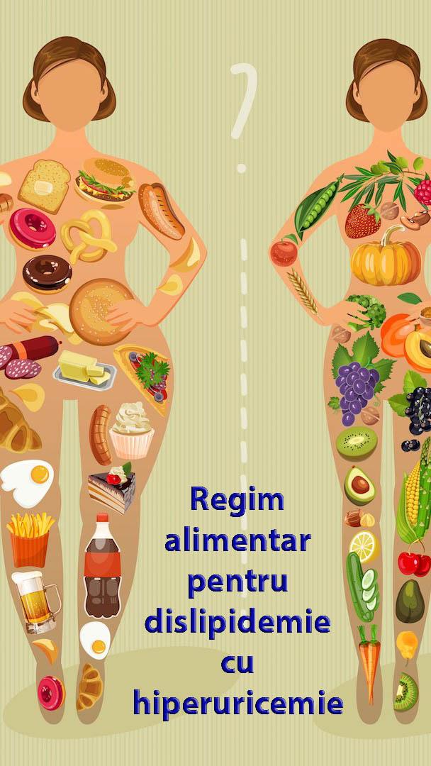 Regim alimentar pentru dislipidemie cu hiperuricemie