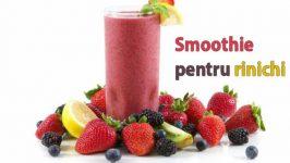 Smoothie din fructe si legume pentru rinichi