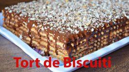 Tort De Biscuiti Din Muntenia