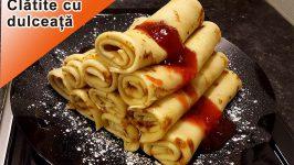 Reteta  Clatite Cu Marmelada Sau Dulceata