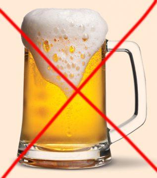 consumul berii interzis !