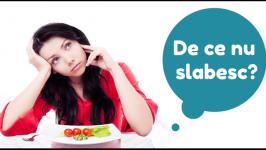 De ce nu se produce pierderea in greutate, desi se reduce aportul de calorii ?