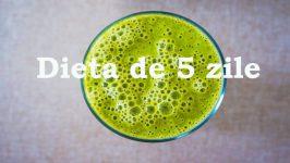 Bautura dietetica de 5 zile - 3kg/saptamana