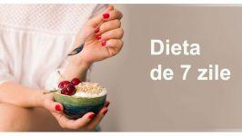 Dieta de  7zile