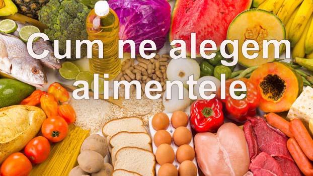 dieta echilibrata alimente