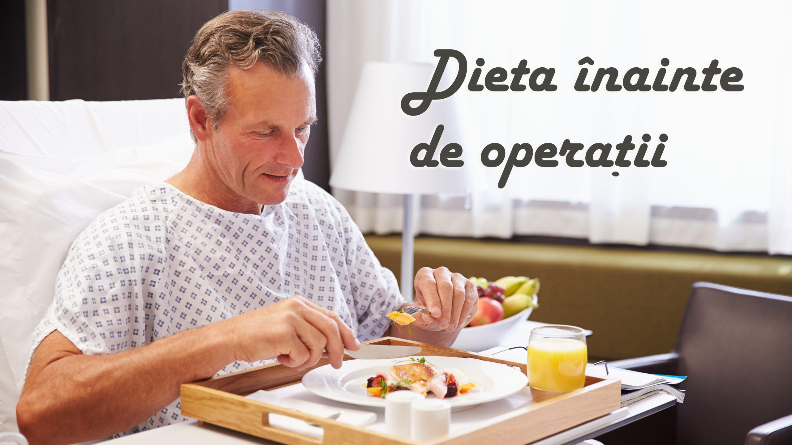 dieta inainte de operatii