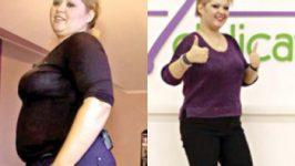 Cum a slabit Minodora 20 kg in 8 luni ?