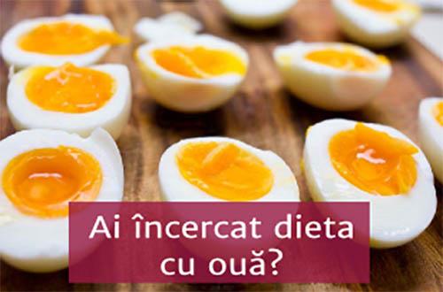 dieta proteica cu oua