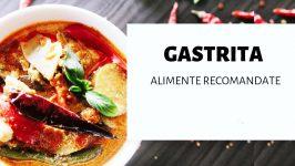 Regim alimentar pentru gastrite