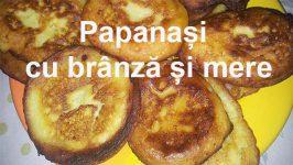 Reteta Papanași cu brânză dulce și mere