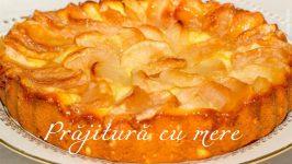 Prajitura cu mere pufoasa cu o cana de iaurt