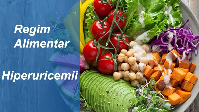 regim alimentar hiperuricemii