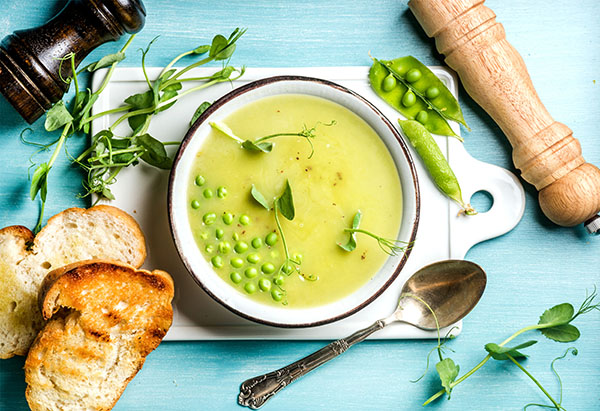 supa-de mazare